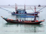 Lokales Bootstauchen auf Koh Phangan