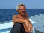 Michael auf dem Chaloklum Diving Boot