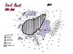 Tauchplatzkarte vom Sail Rock