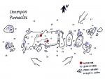 Tauchplatzkarte von den Chumphon Pinnacles