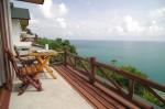 Meeresblick Bungalow mit Badewanne im Utopia Resort, Koh Phangan
